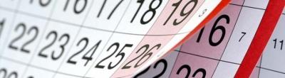 Electorial Calendar October-December 2017